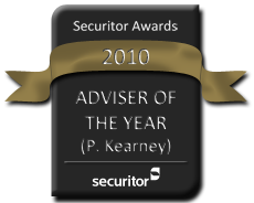 Securitor 2010 Adviser of the Year Award Seal